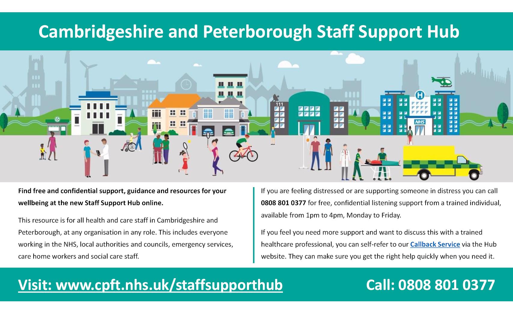 CP Staff Support Hub